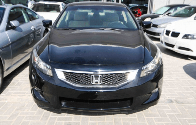 2008 Black Honda available For Sale In Abu Dhabi - at Al Bayan Motors.