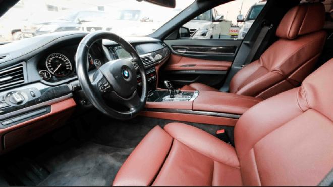 2012 White BMW 750 Li For Sale In Abu Dhabi.