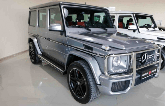 2013 Grey Mercedes-Benz G 63 AMG for sale in Abu Dhabi, UAE.