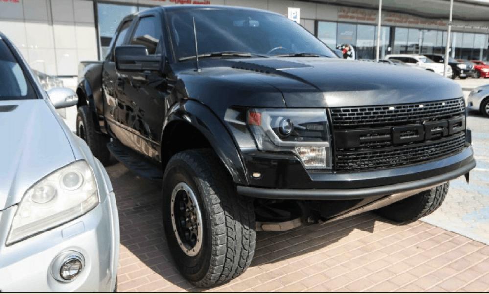 2017 Black Ford Ranger Svt 6 2l Available For In Abu Dhabi Max Motors