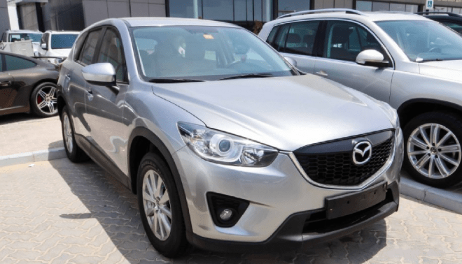 2015 Grey Mazda CX-5 available for sale in Abu Dhabi.