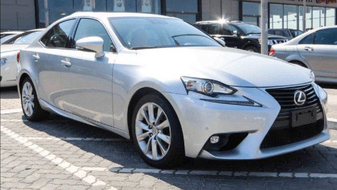 2015 Lexus IS 250 available for sale in Abu Dhabi.