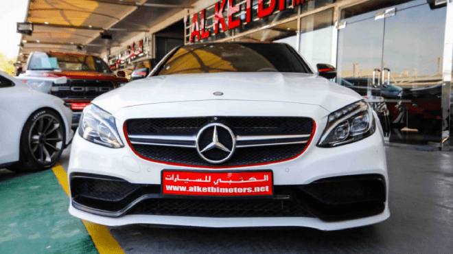 2016 White Mercedes-Benz C 63 AMG S available for sale in Duabi
