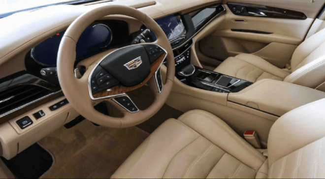 2017 Grey Cadillac CT6 3.0T AWD available for sale in Abu Dhabi, UAE.