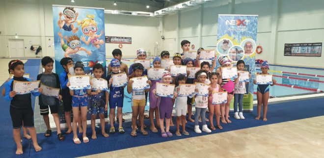 Private & Group Swimming Classes & Lessons for Kids & Adults in Abu Dhabi | Next Step Sports Academy