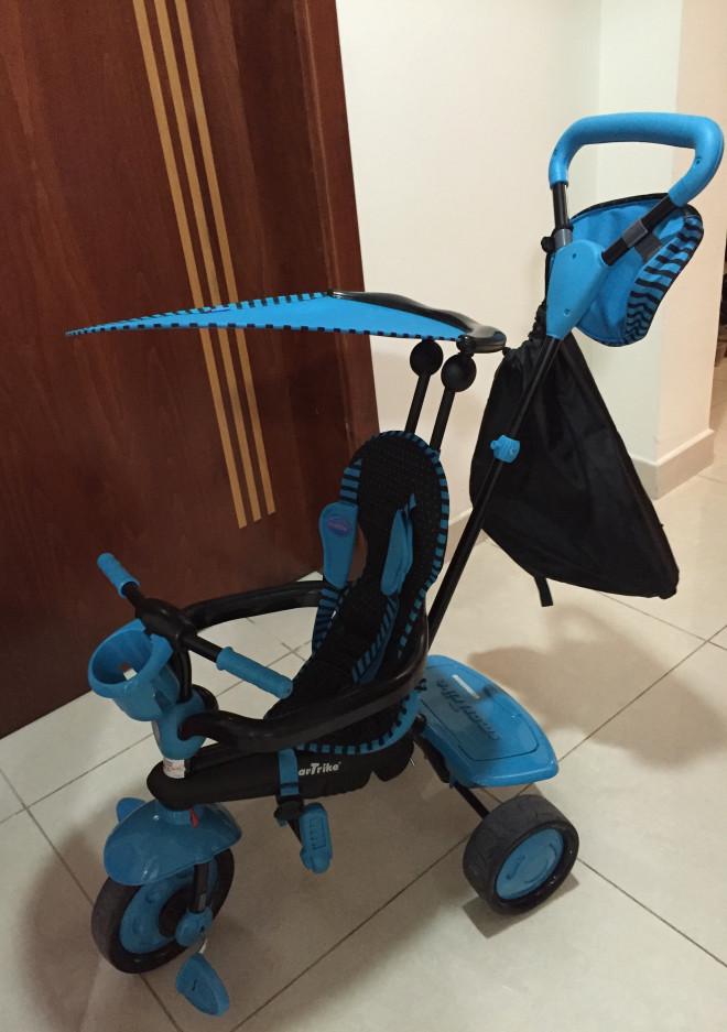 Smart Trike Aqua toddler combo bike and push rider