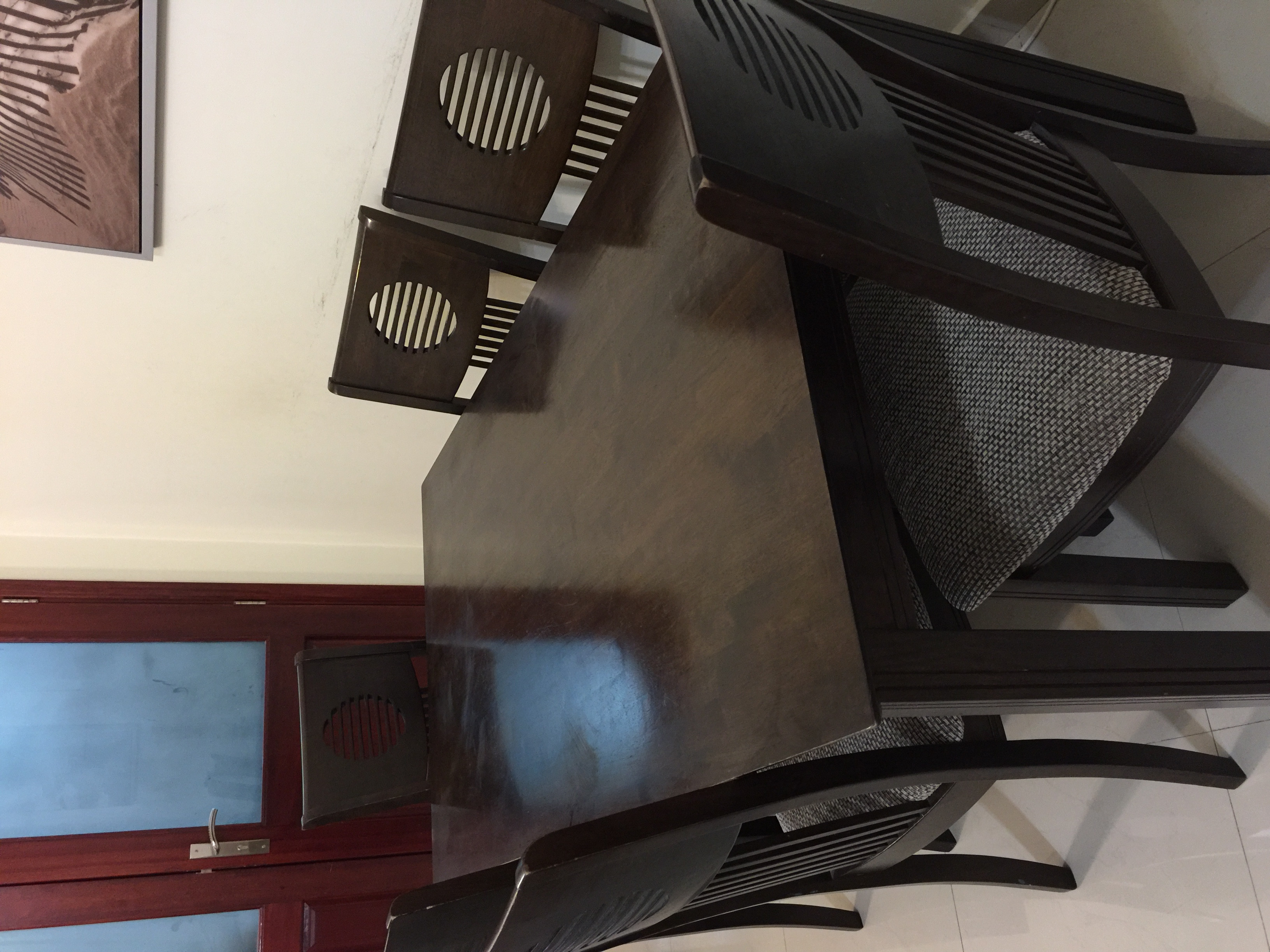 Dining Set With 6 Chairs From Home Center Abu Dhabi Uae Storat