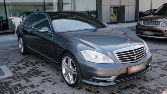 2009 Mercedes S 500 for sale in Abu Dhabi