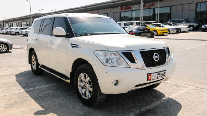 Nissan Patrol LE 2012 VVEL DIG  available for slae in Abu Dhabi