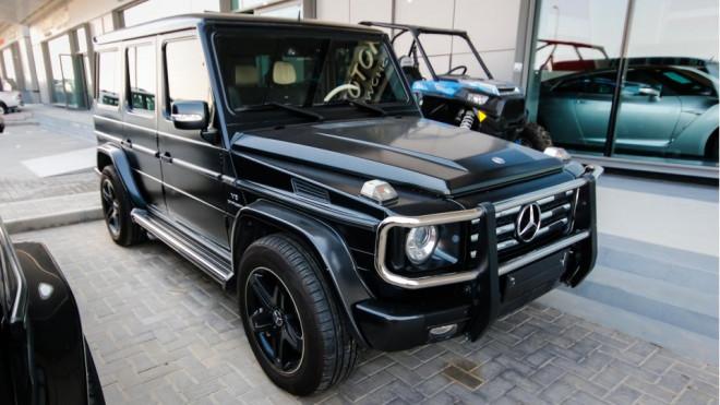 2011 mercedes benz g 55 amg v8 biturbo abu dhabi uae for Mercedes benz jobs in alabama