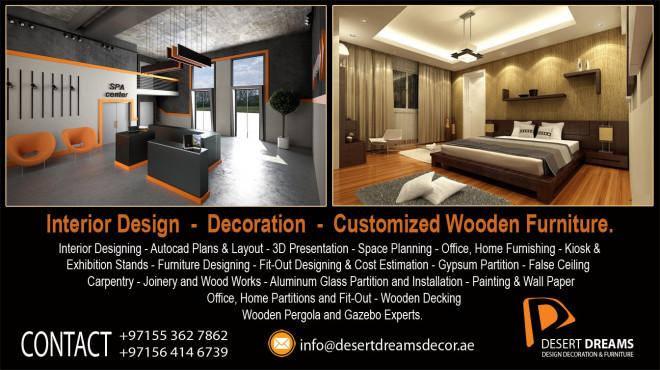 Fit Out Works In Abu Dhabi | Carpentry Works | Interior Design | Renovation  Uae