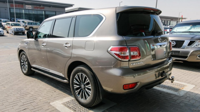 2014 Nissan Patrol Platinum VVEL DIG Available for Sale in Abu Dhabi