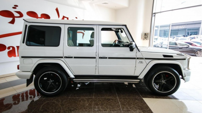 2010 Mercedes-Benz G 55 With G 63 Kit Available for Sale in Abu Dhabi