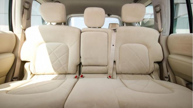 2014 Nissan Patrol SE With Platinum VVEL DIG Badge for Sale in Abu Dhabi