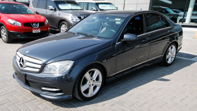 2011 Mercedes Benz C 300 4matic Available For Sale In Abu