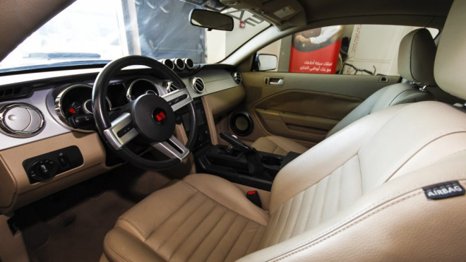 2009 Ford Mustang Saleen Available for Sale in Abu Dhabi