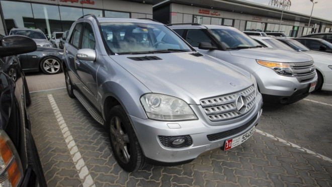 2008 Mercedes-Benz ML 350 4MATIC Available for Sale in Abu Dhabi