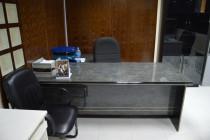 Elegant Office Desk, Chairs & Cupboard
