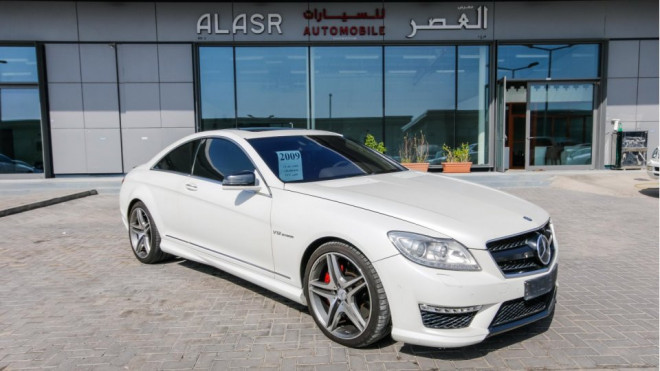 2009 mercedes benz cl 63 amg v8 for sale in abu dhabi. Black Bedroom Furniture Sets. Home Design Ideas