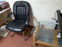 For sale office chairs with glass table