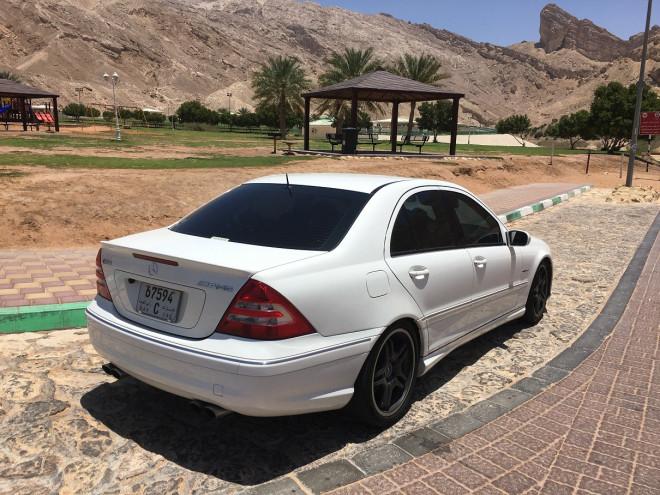 Mercedes benz c55 amg 2006 ras al khaimah uae storat for Mercedes benz c55 amg for sale