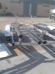 Boat - Trailers - fully galvanized,