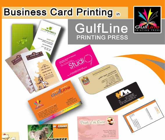 Executive Business Cards, Visiting Cards Printing in Sharjah 1 Hour Service