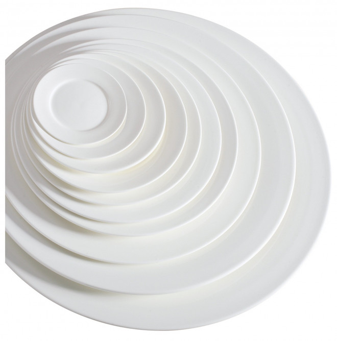 DUBAI HOTEL SUPPLY OF A VARIETY CERAMIC ROUND DINNER PLATES