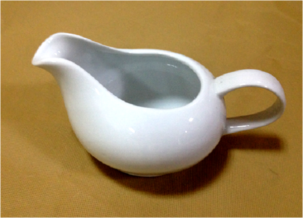 DUBAI HOTEL SUPPLY OF CERAMIC PETAL MILK POT