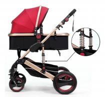 Belecoo Newborn Baby Foldable Anti-Shock Stroller / Pram