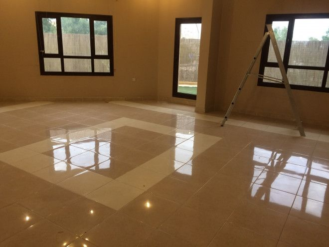 Nice floor in villa at Mangaf