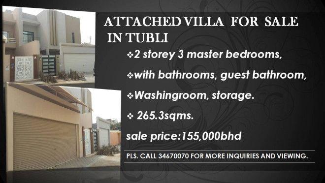 Villa for sale in Tubli