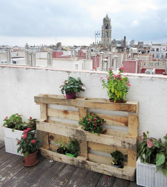 Wooden Pallets Herb For Plants And Garden In Dubai