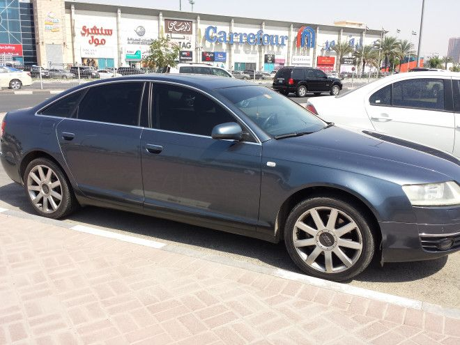 Audi A6 3.2 2008 full options with Navigation