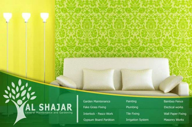 Wall Paper Fixing Services in Abu Dhabi