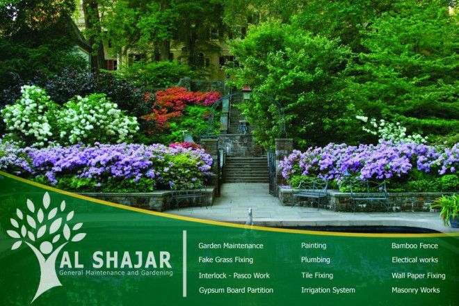 Gardening Package For Al Fursan Villas in Abu Dhabi (Silver Package)