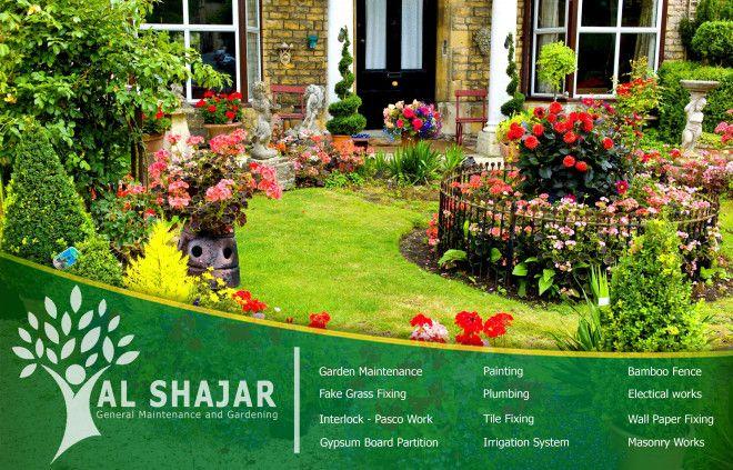 Gardening Package For Al Fursan Villas In Abu Dhabi (Gold Package)