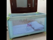 Baby bed in good condition,Used few times. Original packing, including mattress.