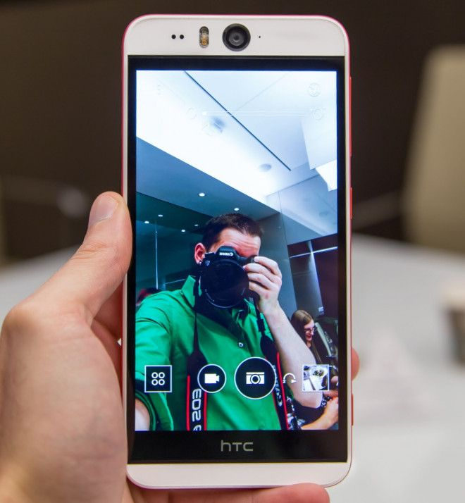 HTC Desire eye, 13MP front cam, water resistant