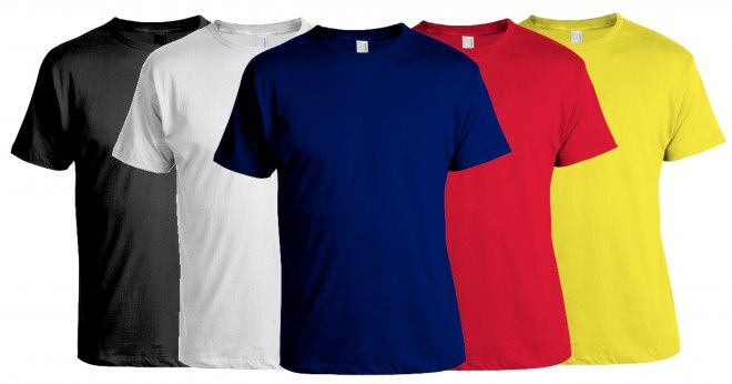 Plain & Printed T-shirts Available in All Sizes in Abu Dhabi, UAE