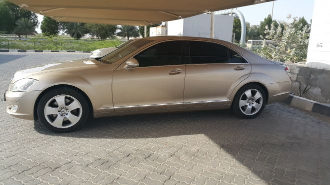 mercedes s350 2006 for sale in abu dhabi uae abu dhabi. Black Bedroom Furniture Sets. Home Design Ideas