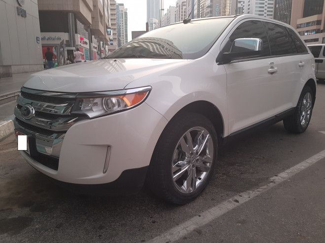 Ford Edge Limited 2014 is Available in Abu Dhabi - Under Warranty
