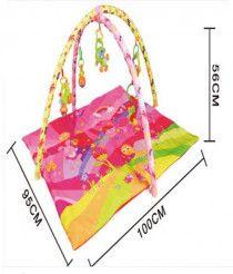 Newborn Baby Play mat Activity Gym Carpet with Music - Pink