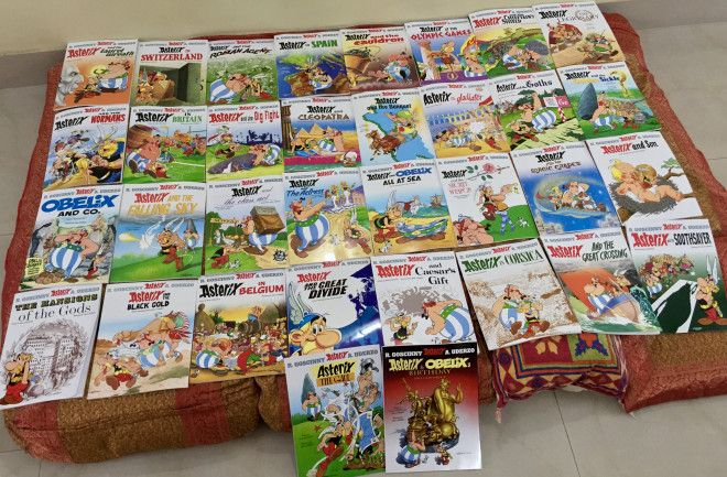 The Complete Asterix  Collection (34 Volumes)