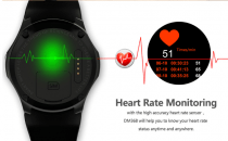 Smart Watch DM368 ,8GB ROM Pedometer Heart Rate Monitoring GPS Bluetooth 4.0