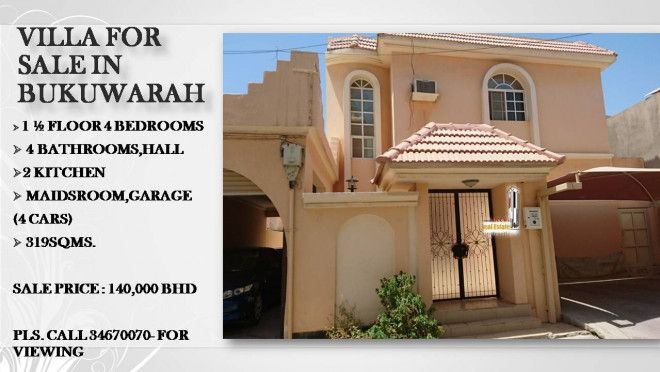 Villa for sale in Riffa Bukuwarah