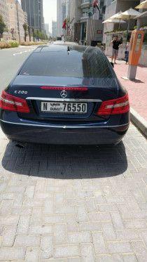 Mercedes E200 coupe 2013 GCC full options 67000km