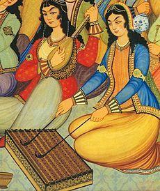 The santur (also santūr, santour, santoor)) is a hammere