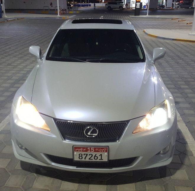 Lexus IS300 Model 2008 full option GCC Pearl White