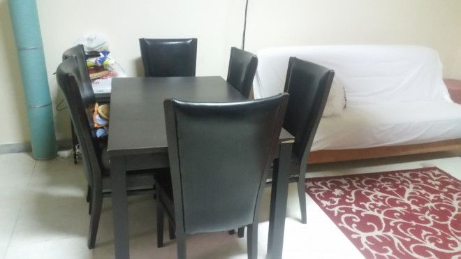 Dining Table With Chairs Bed TV For Sale